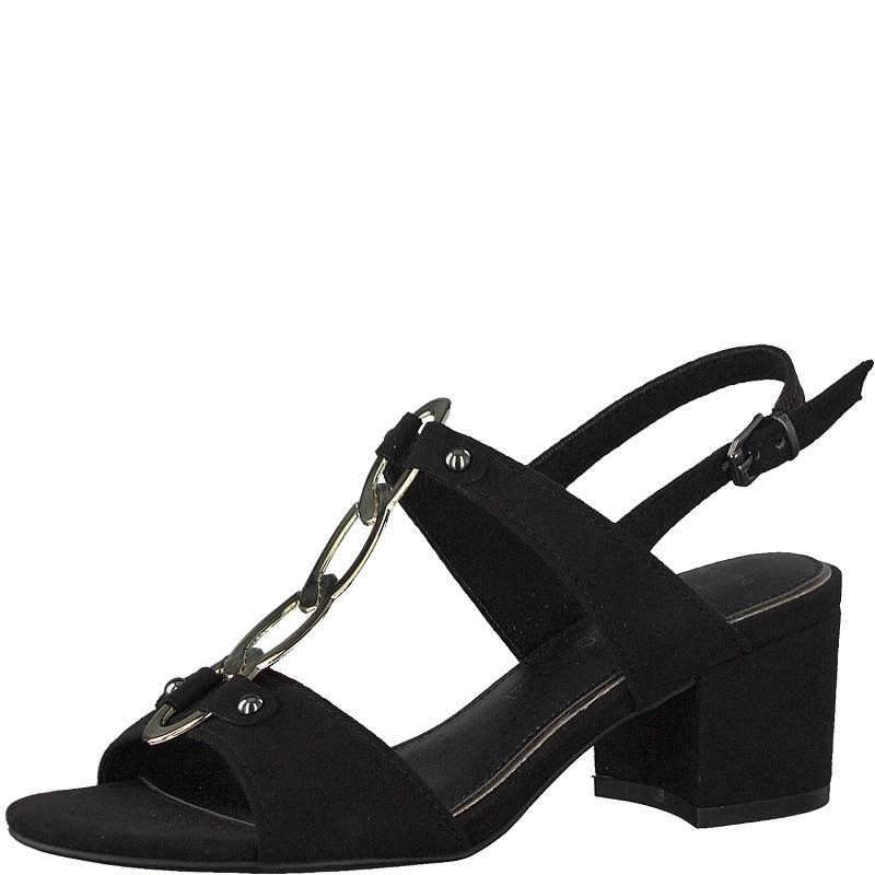04a3281d6ad Dámské sandály Marco Tozzi 2-28312-20 Černá