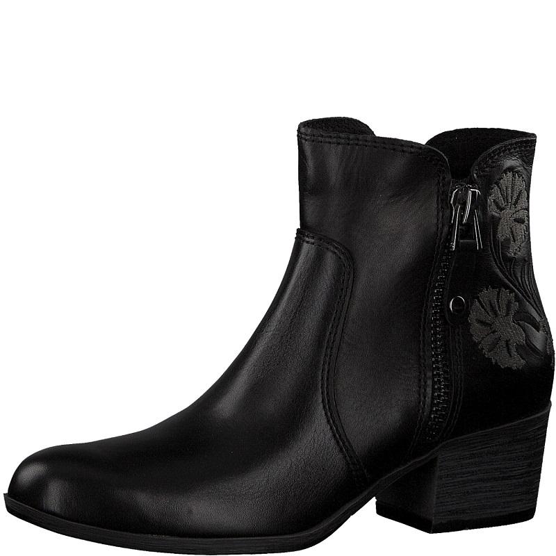 dab21e68d6f Dámská kotníková obuv Marco Tozzi 2-25322-31 Černá